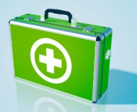 Image of a first aid box