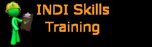 INDISkills training logo