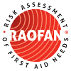 RAOFAN logo - Risk Assessment of First Aid Needs