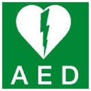 Image of an AED logo