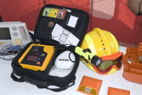 image of portable defibrillator (AED)